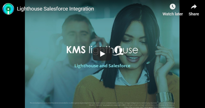 Lighthouse and Salesforce Integration