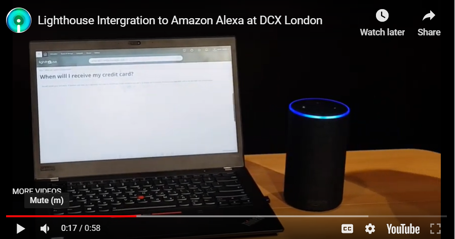 KMS lighthouse introduces its integration with Alexa