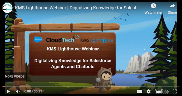 Webinar – Salesforce and KMS lighthouse integration
