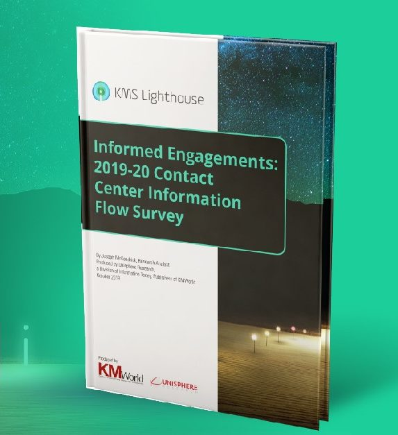 Informed Engagements: 2019-20 Contact Center Information Flow Survey
