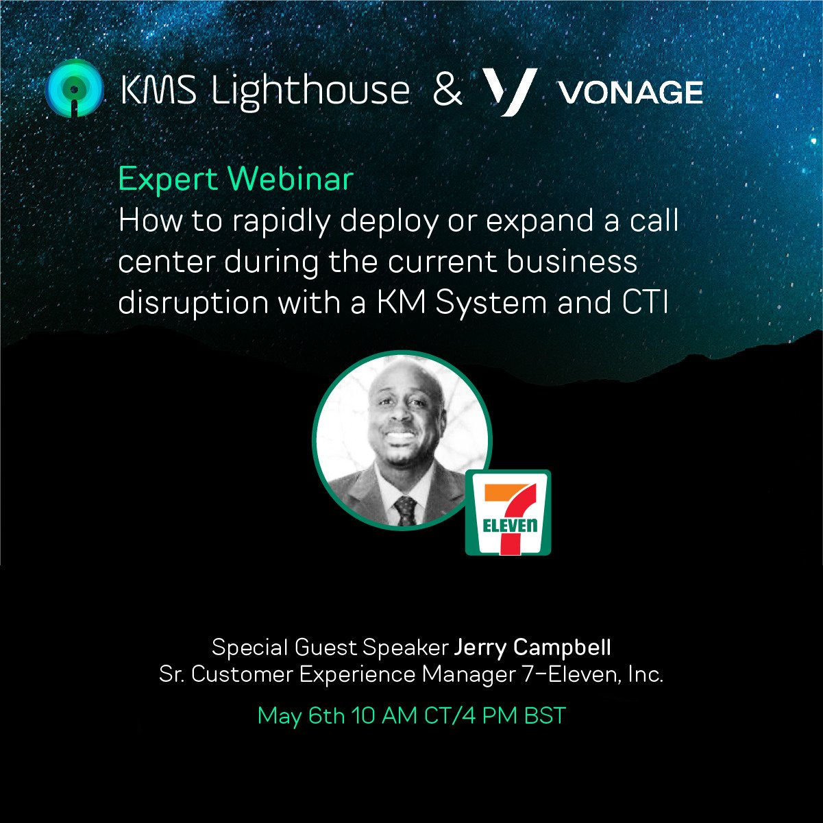 Watch the webinar: How to rapidly deploy or expand a call center during the current business disruption