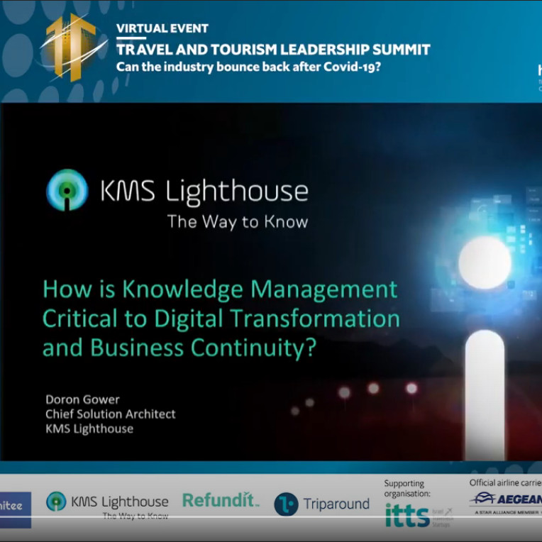 Presentation from the Economist Travel and Tourism Leadership Summit with KMS Lighthouse