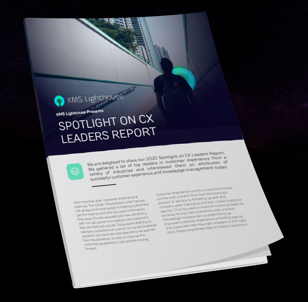 The Spotlight on CX Leaders Report