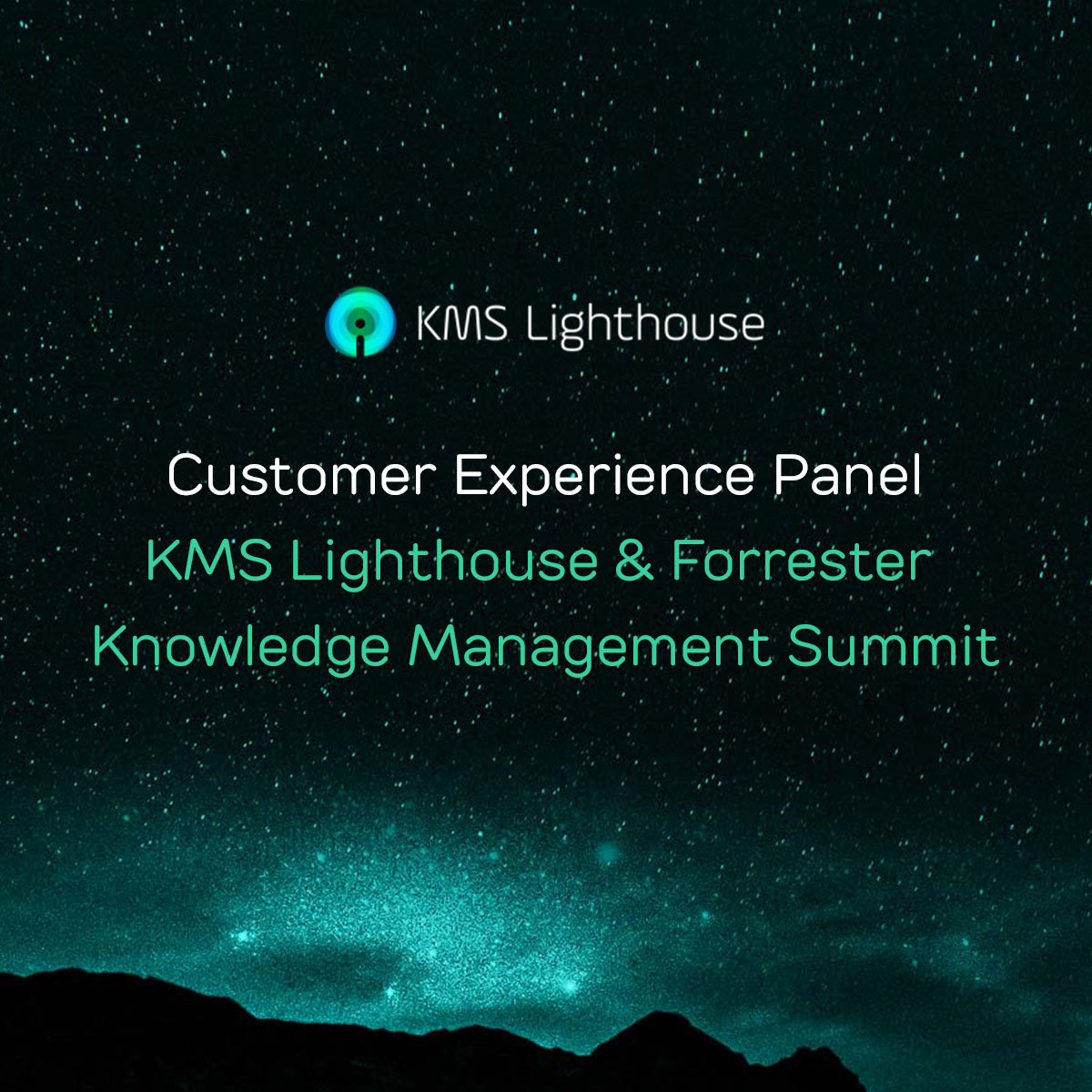 Watch the webinar:<br>Customer Experience Panel KMS Lighthouse & Forrester Knowledge Management Summit