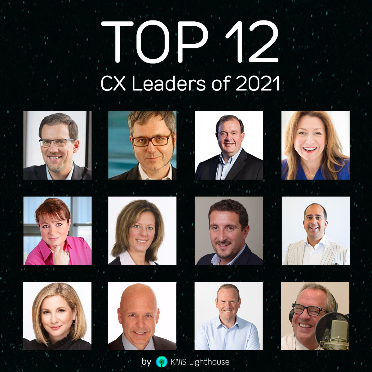 Top 12 CX Leaders to Look out for in 2021